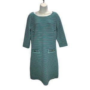 Lilly Pulitzer Charlene Dress Tropez Blue Strip